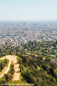 Never Ending Road, Griffith Observatory, Los Angeles, California