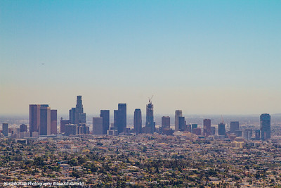 Skyline, Griffith Observatory, Los Angeles, California