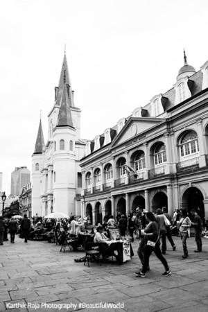 Jackson Square, New Orleans, Louisiana