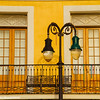Windows, Street Light, New Orleans, Louisiana