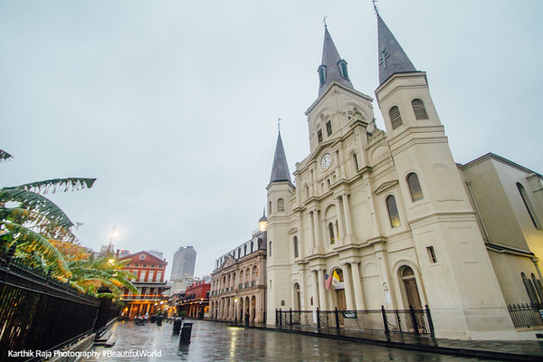 Saint Louis Catholic Cathedral, Jackson Square, New Orleans, Louisiana