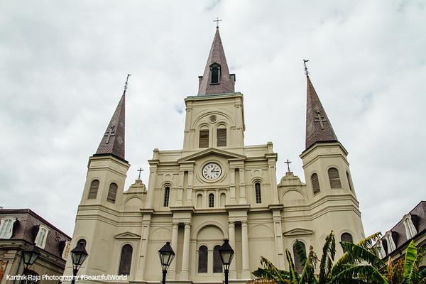 Saint Louis Catholic Cathedral, New Orleans, Louisiana