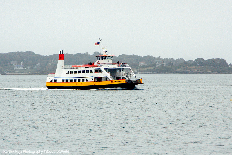 Returning ferry, Portland, Maine