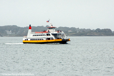 Returning ferry, Portland, Maine