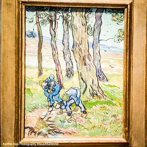 The Diggers, Vincent Van Gogh, Detroit Institute of Arts, Detroit, Michigan