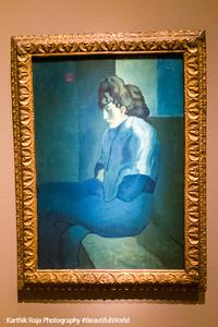 Melancholy Woman, Pablo Picasso, Detroit Institute of Arts, Detroit, Michigan