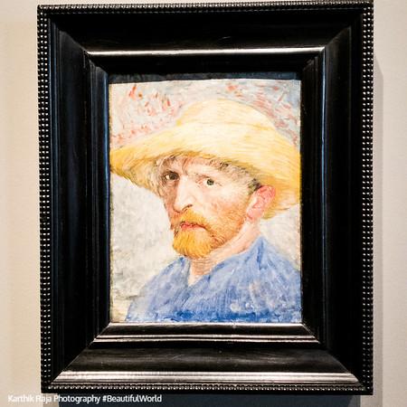 Vincent Van Gogh, Self Portrait, Detroit Institute of Arts, Detroit, Michigan