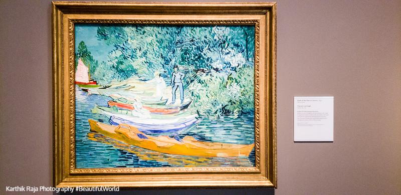 Bank of Oise at Auvers, Vincent Van Gogh, Detroit Institute of Arts, Detroit, Michigan