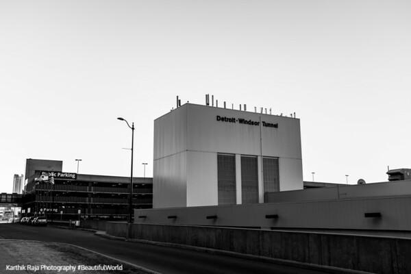Windsor Detroit Tunnel, Detroit, Michigan