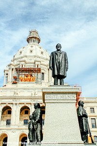Knute Nelson, Minnesota State Capitol, St. Paul