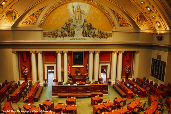 House of Representatives, Minnesota State Capitol, St.Paul