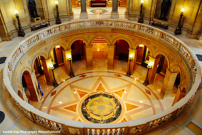 The North Star, Minnesota State Capitol, St. Paul