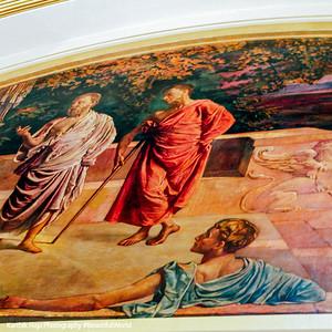 Painting in the Senate, Edwin Blashfield, Minnesota State Capitol, St. Paul