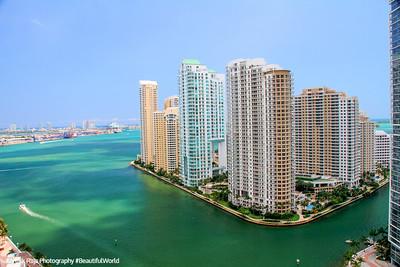 Miami River meets Biscayne Bay
