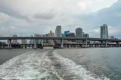MacArthur Causeway, Miami, Florida