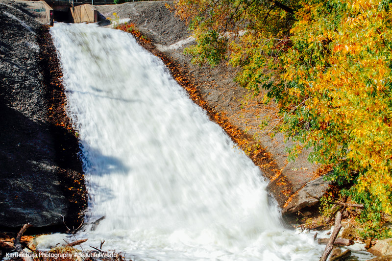 Waterfalls, Hennepin Island Park, Minneapolis