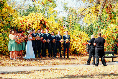 Wedding, Hennepin Island Park, Minneapolis