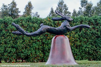 Rabbit and the bell, Minneapolis Sculpture Garden
