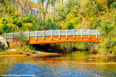 Bridge, Hennepin Island Park, Minneapolis