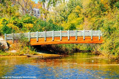 Bridge, Hennepin Island Park, Minneapolis