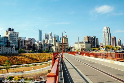 The road to Minneapolis