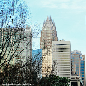 Bank of America Corporate Center, Charlotte, North Carolina
