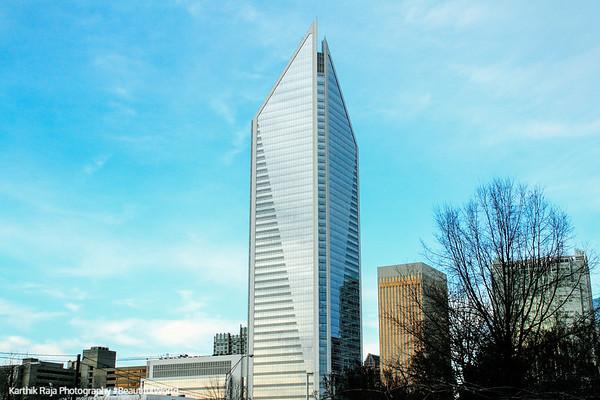 Duke Energy Center, the 2nd tallest building in Charlotte, North Carolina
