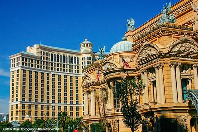 Paris Hotel and the Bellagio, Las Vegas, NV