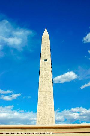 Obelisk at Luxor, Las Vegas, NV