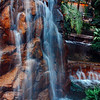 Silky waterfalls at TI, Las Vegas, NV