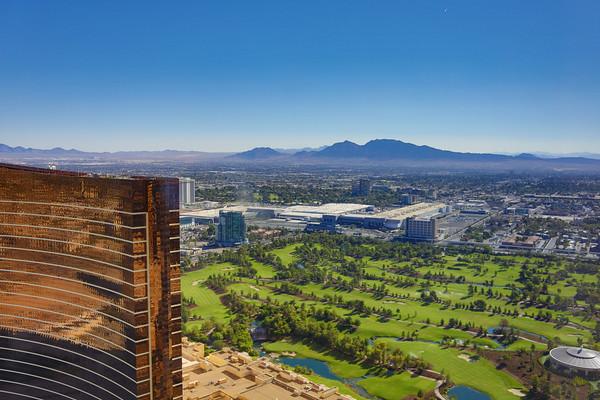 View from the Venetian, Las Vegas, Nevada