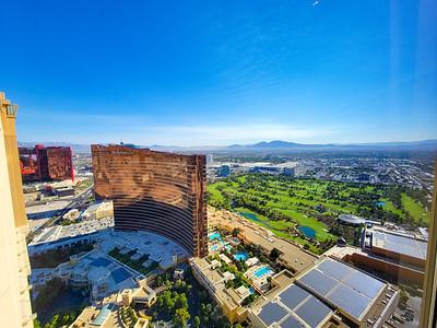 View from the Venetian 50th floor, Las Vegas, Nevada