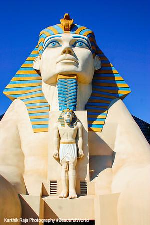 The Sphinx at Luxor, Las Vegas, NV
