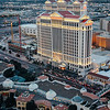 Caesars Palace from the sky, Las Vegas, NV