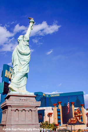 Statue of Liberty at NY NY, Las Vegas, NV