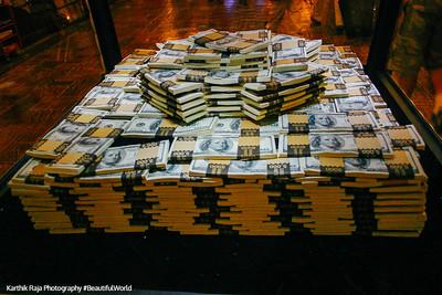 One Million Dollars in cash, Las Vegas, NV