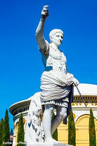 Caesars Palace entrance, Las Vegas, NV