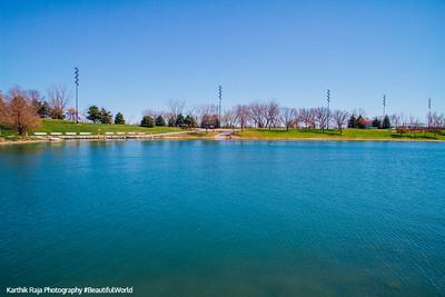 Conagra Lake, Heartland of America Park, Omaha, Nebraska