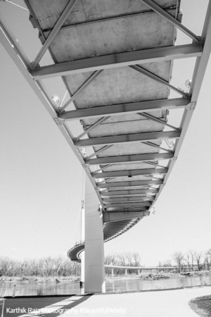 Bob Kerrey Pedestrain Bridge, Omaha, Nebraska