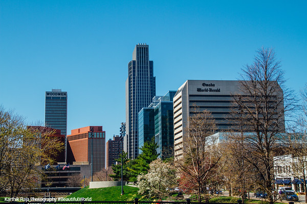 Omaha skyline, Nebraska