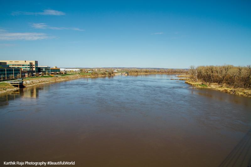 Mississippi River, Omaha, Nebraska