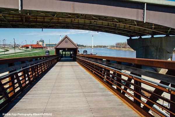 Bridge, Heartland of America Park, Omaha, Nebraska