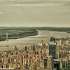 George Washington Bridge, Hudson River, New York City