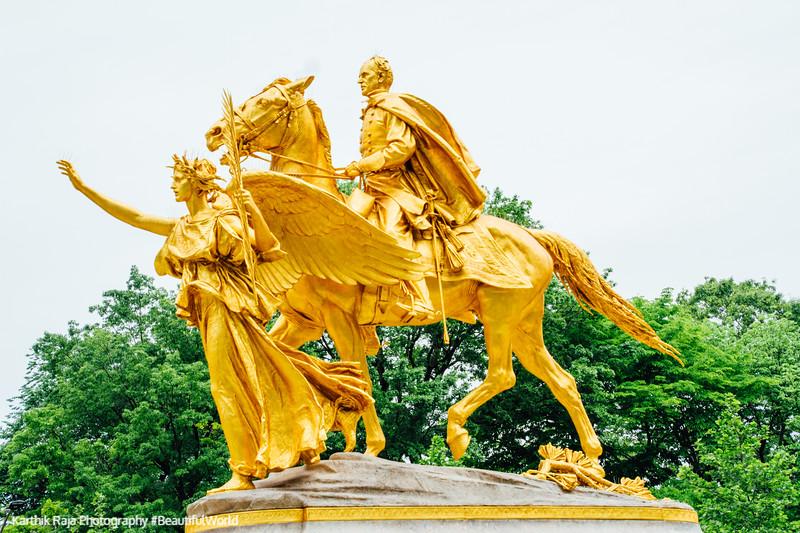 General William Tecumseh Sherman Monument, Grand Army Plaza, New York City