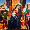 Madonna and Child Enthroned with Saints, Raphael, 1483 - 1520,The Metropolitan Musuem of Art, New York City