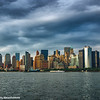 New York Skyline from Ellis Island