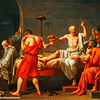 The Death of Socrates, Jacques-Louis David, 1748-1825,The Metropolitan Musuem of Art, New York City