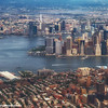 Downtown Manhattan from the sky, One World Trade Center, New York City