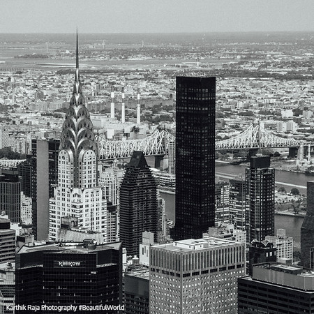 Chrysler Building, Grand Central Plaza, Blue Cross Building, New York City