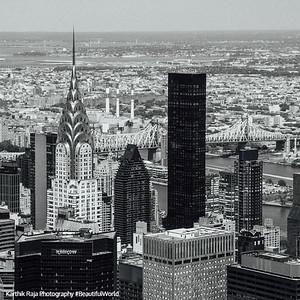 Chrysler Building, Grand Central Plaza, Blue Cross Building, New York City